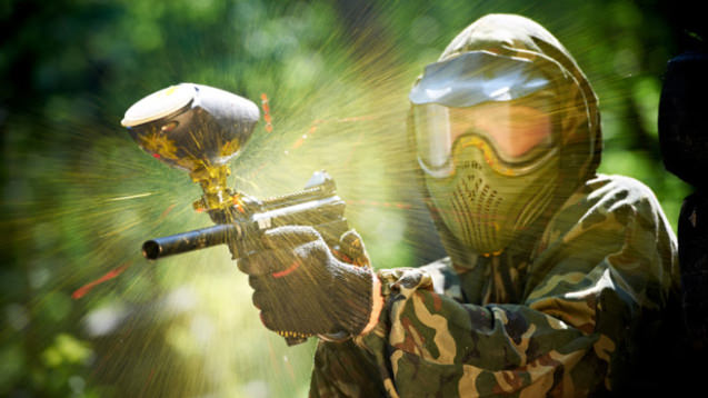 paintball flase
